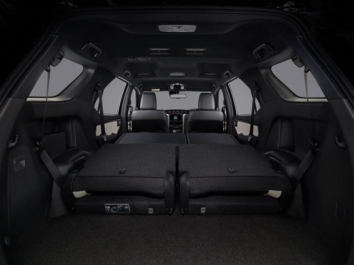 ภายใน Toyota Fortuner 2020