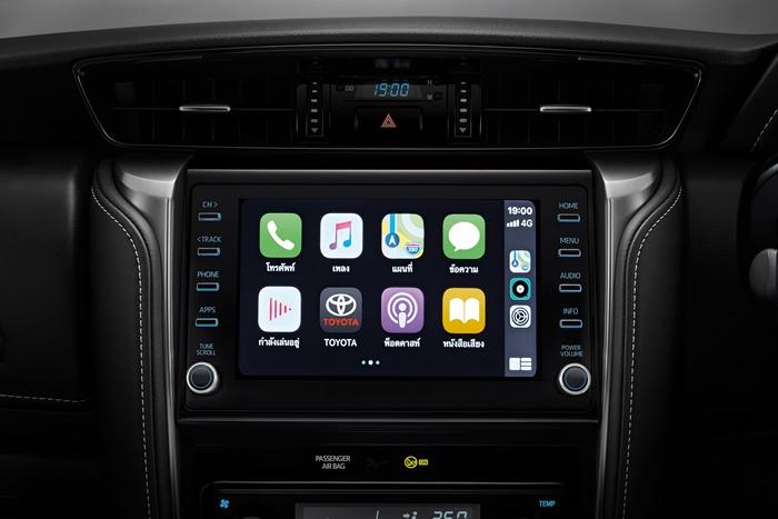 หน้าจอสัมผัสที่รองรับ Apple CarPlay
