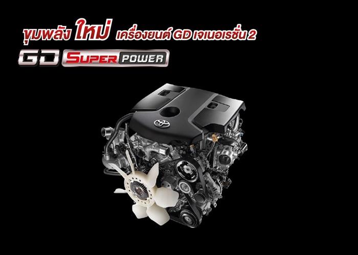 Toyota Hilux Revo 2020 รุ่นมาตรฐาน มีเครื่องยนต์ทั้งแบบ 2.4 ลิตร และ 2.8 ลิตร
