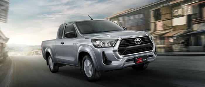 ภายนอกของ Toyota Hilux Revo 2020 Z-Edition