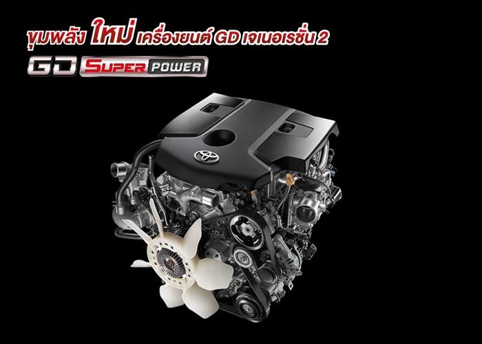 เครื่องยนต์ Toyota Hilux Revo 2020 Z-Edition