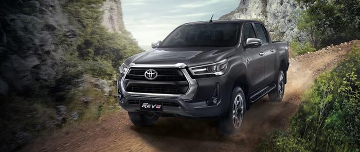 ภายนอก Toyota Revo 2020 รุ่น Prerunner และรุ่น 4x4
