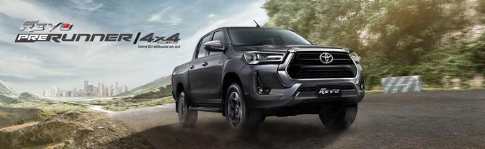 Toyota Hilux Revo 2020 Prerunner และ 4x4 เริ่ม 7.07 แสนบาท