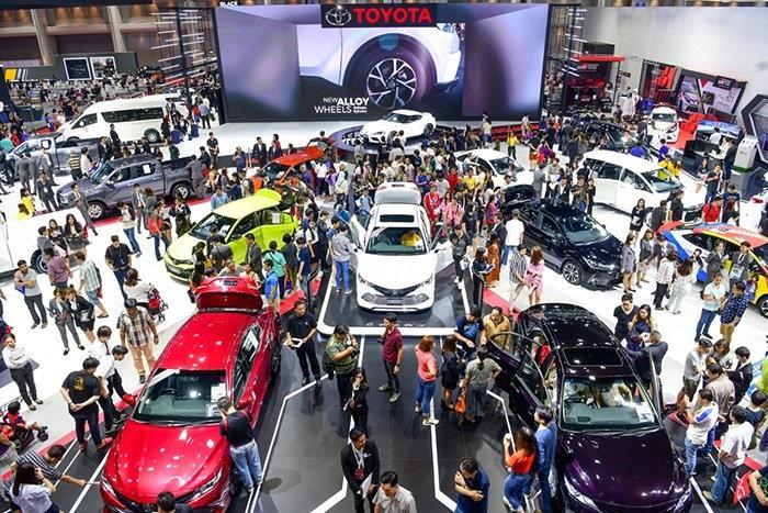 ยอดขายรถยนต์ พฤษภาคม 2563 ทรุด54.1%