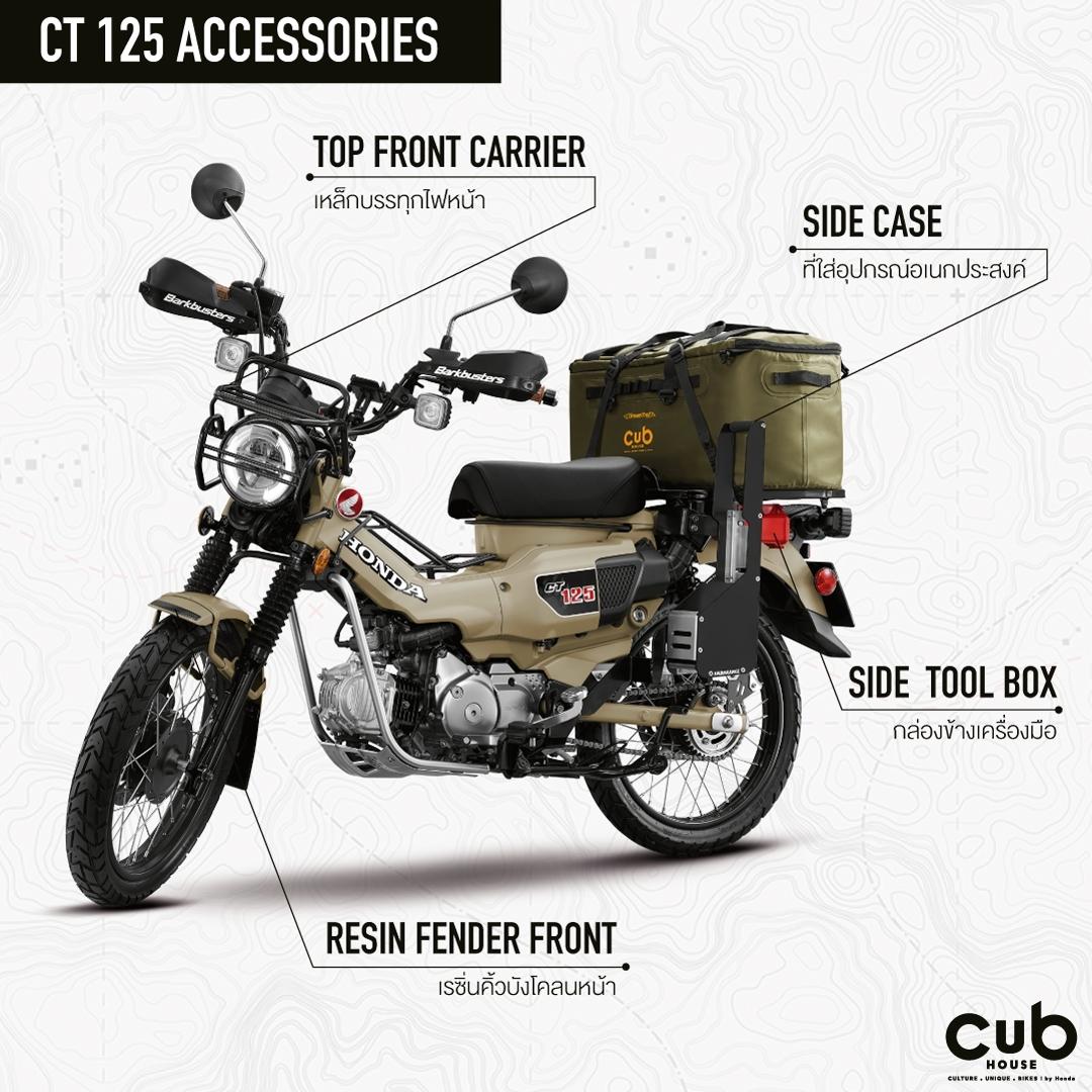 2020 Honda CT125