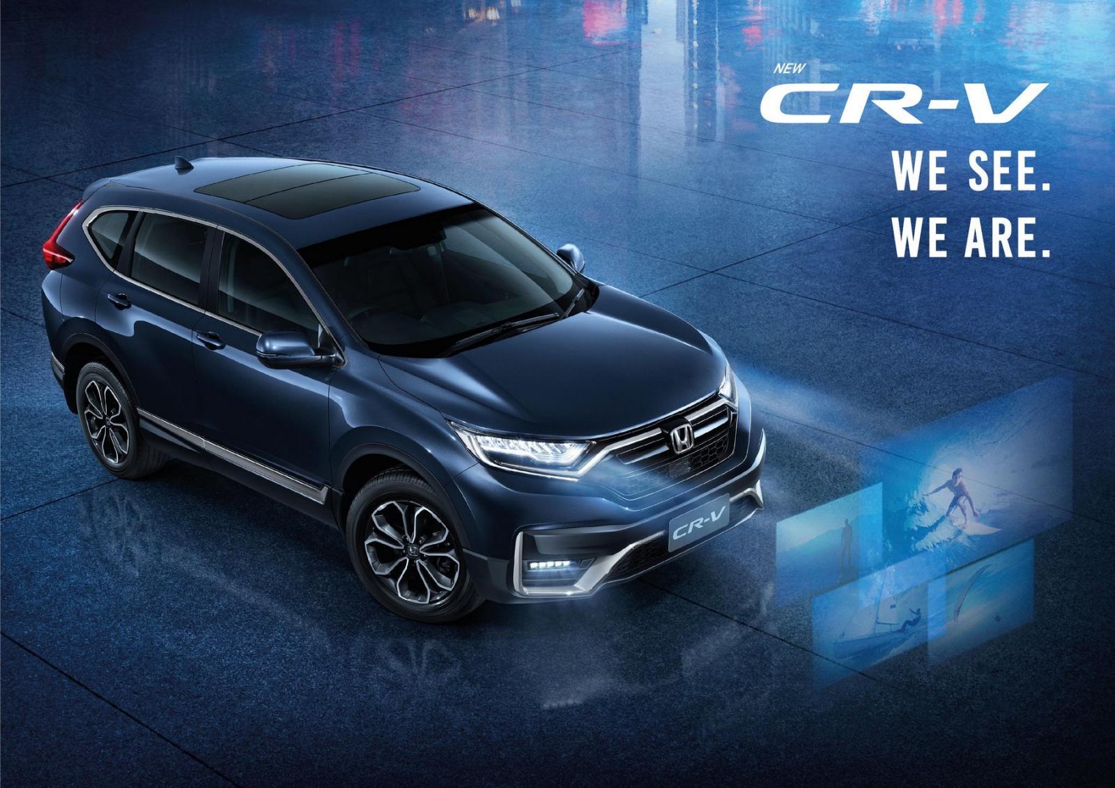 ราคาและตารางผ่อน ดาวน์ Honda CR-V