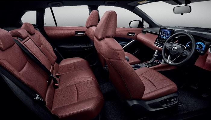 ภายในToyota Corolla Cross 2020