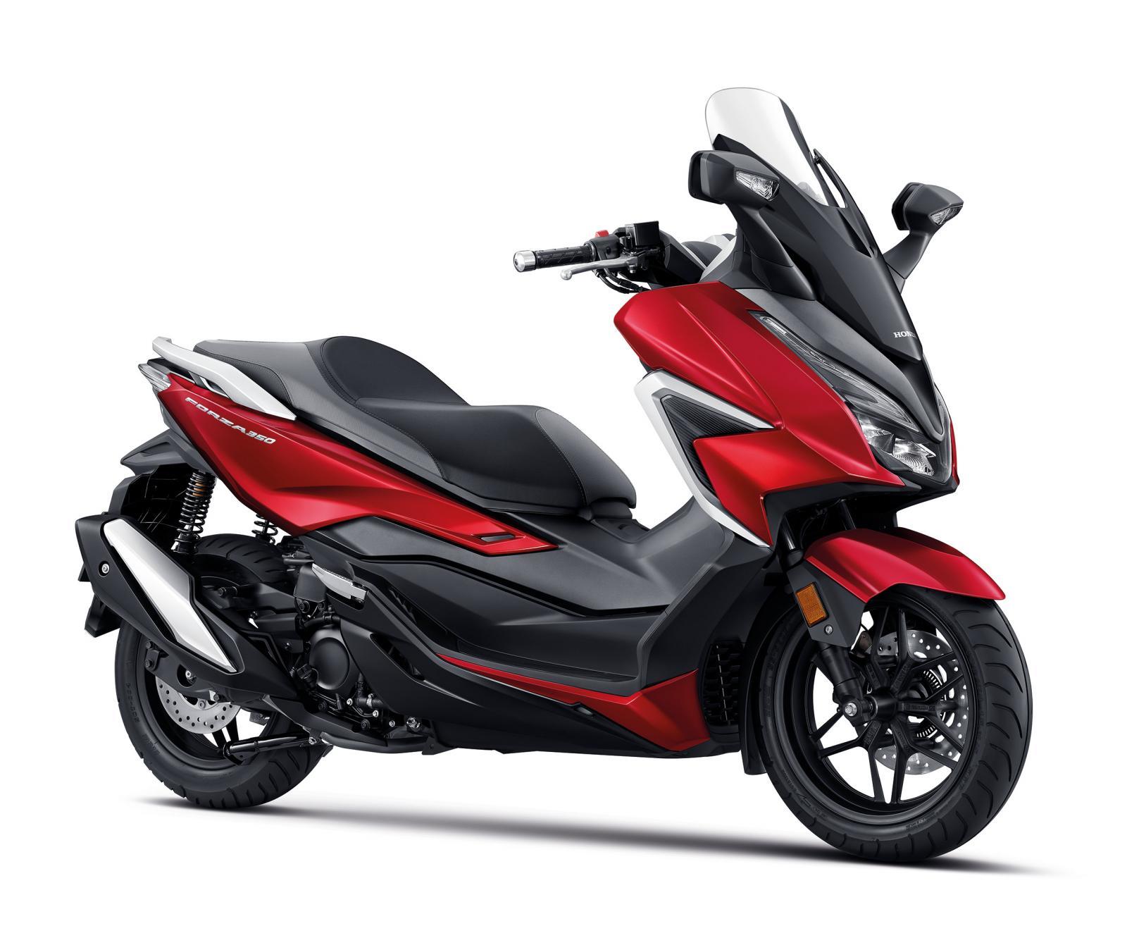 ราคาและตารางผ่อน ดาวน์ Honda Forza 350