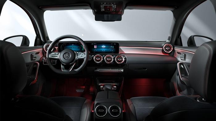 ภายในMercedes-Benz A-Class