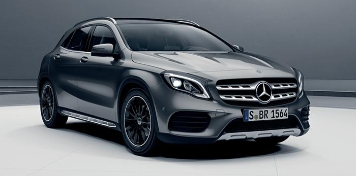 Mercedes Benz GLA เริ่ม 1.999 ล้านบาท
