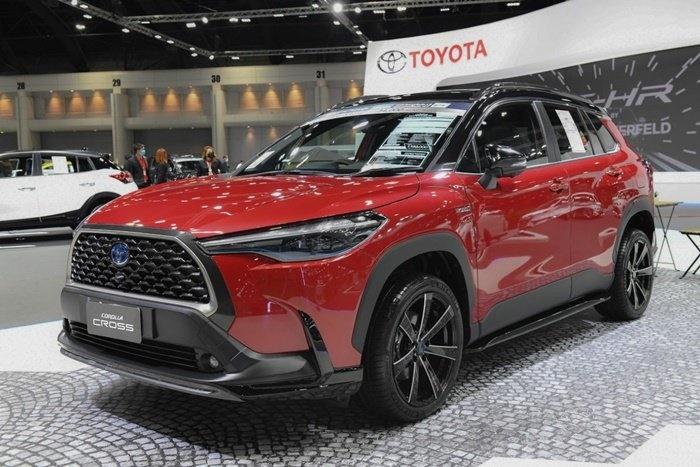 โตโยต้ามียอดขายอันดับหนึ่งในตลาดรถยนต์รวม