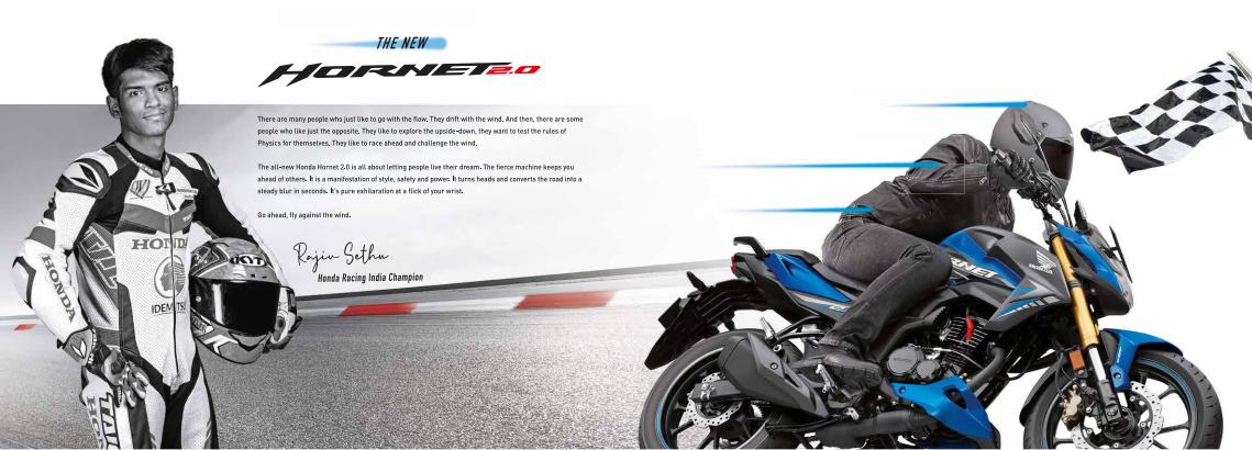 2020 Honda Hornet 2.0
