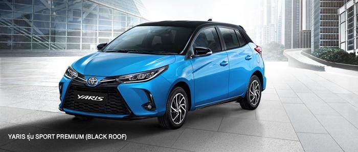 Toyota Yaris 2020 ราคา เริ่ม 5.49 แสนบาท