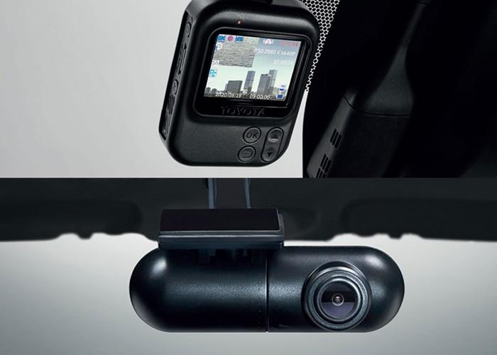 กล้องบันทึกภาพหน้ารถ และหลังรถ