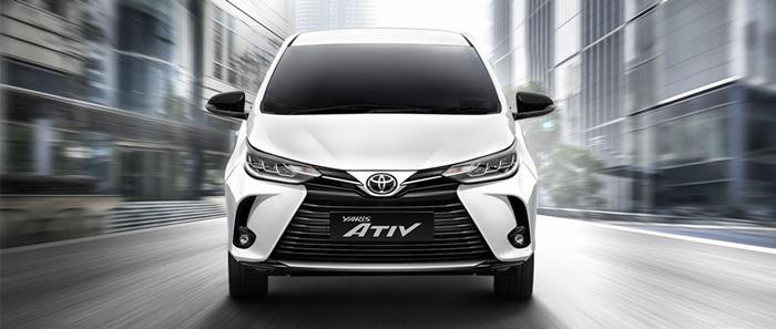 Toyota Yaris Ativ 2020 เริ่ม 5.39 แสนบาท