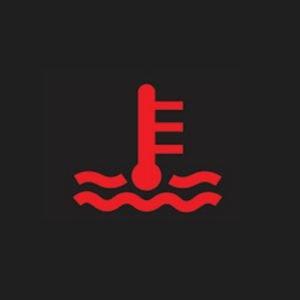 สัญญาณเตือนอุณหภูมิหม้อน้ำสูง