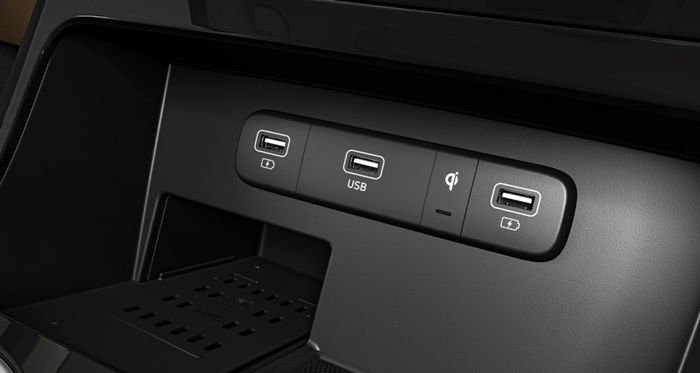 Center-console USB Charger