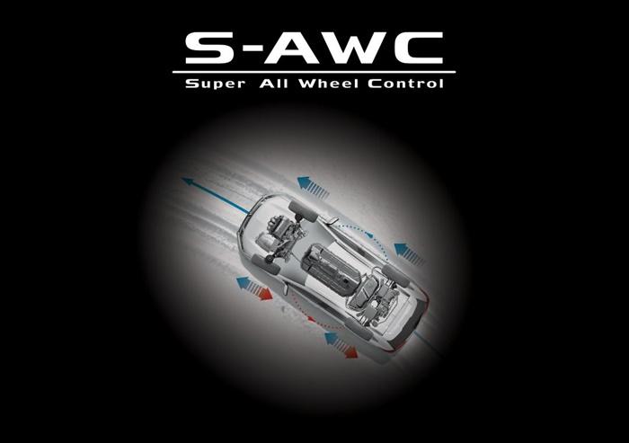 ขับเคลื่อน 4 ล้อ แบบ S-AWC