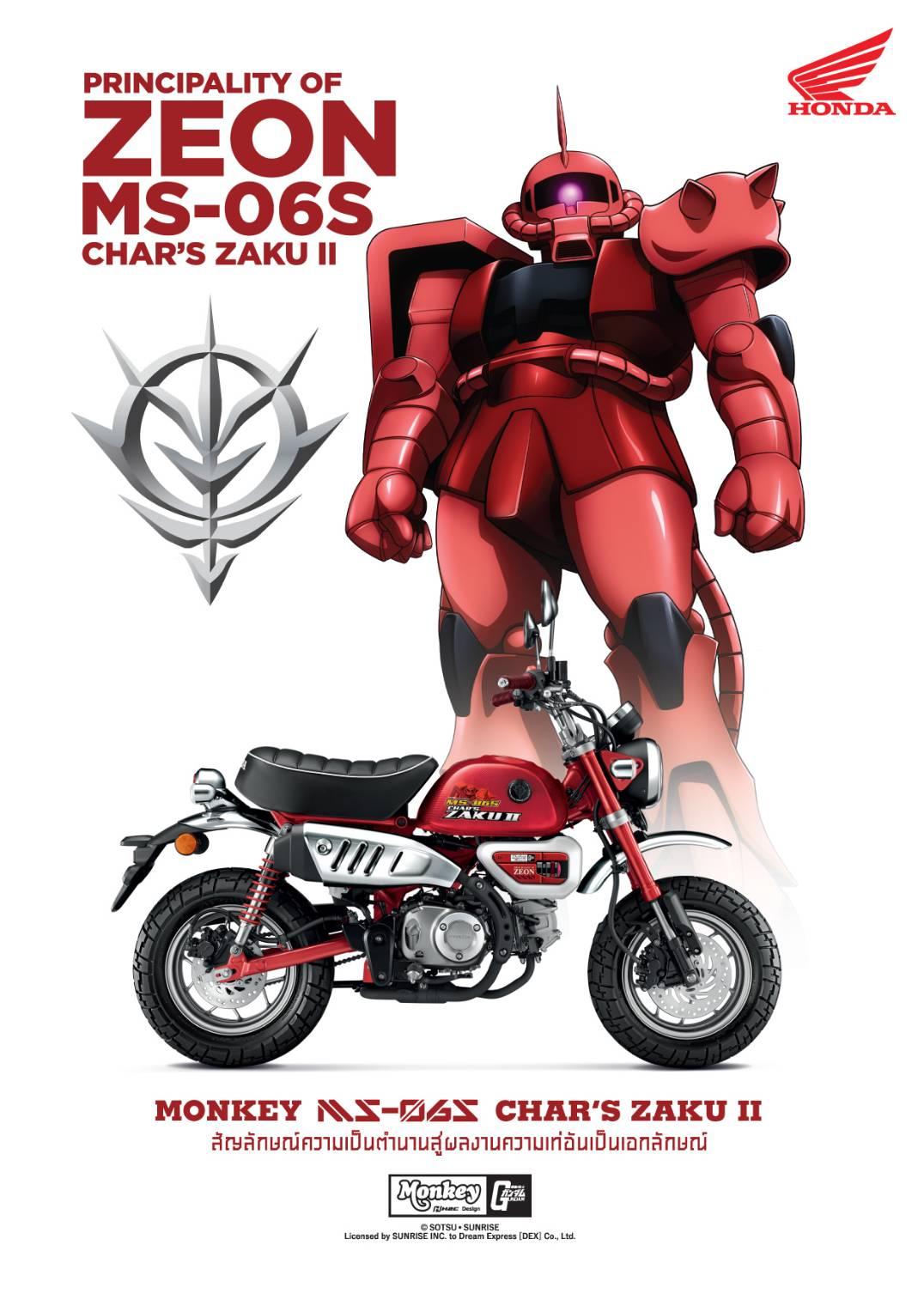 2021 Honda Monkey Gundam