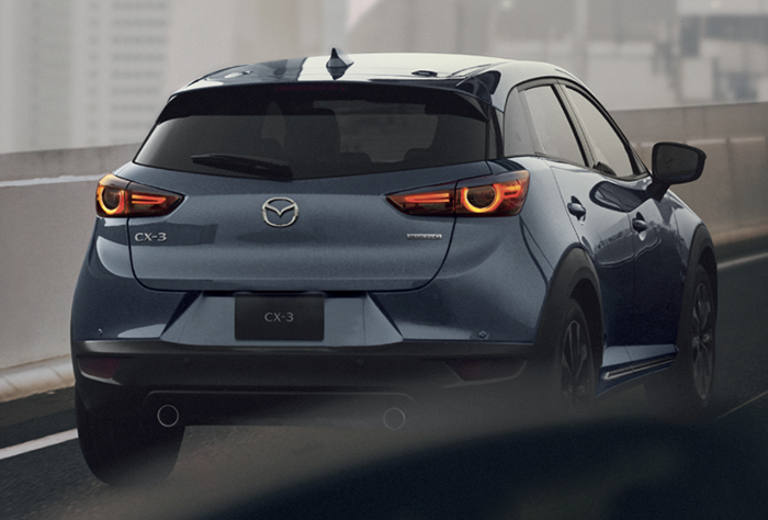 Mazda CX-3 2021 ราคาเริ่มต้น 769,000 บาท
