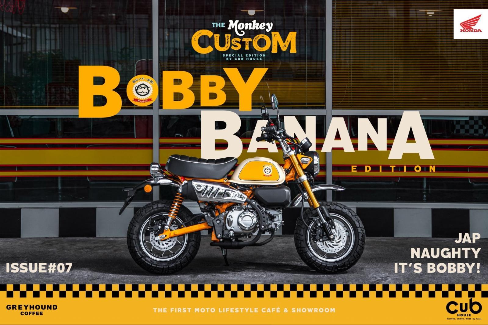 Honda Monkey Bobby Banana
