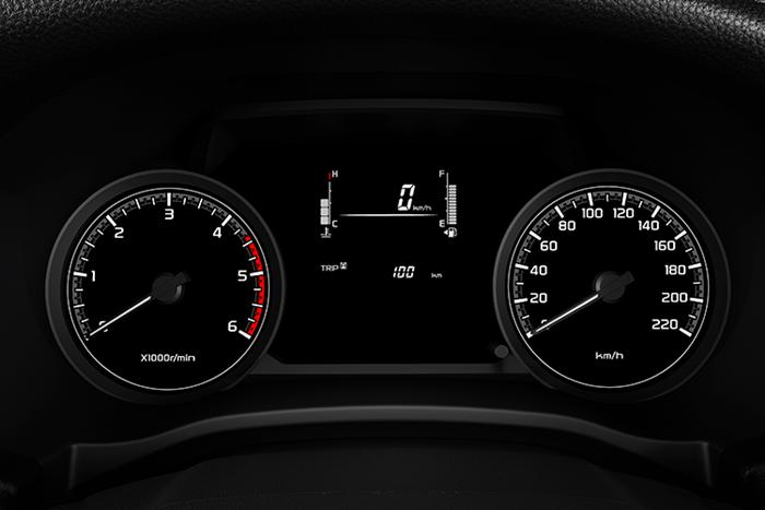 หน้าจอแสดงข้อมูลการขับขี่ MID แบบ Monochrome ขนาด 3.5 นิ้ว