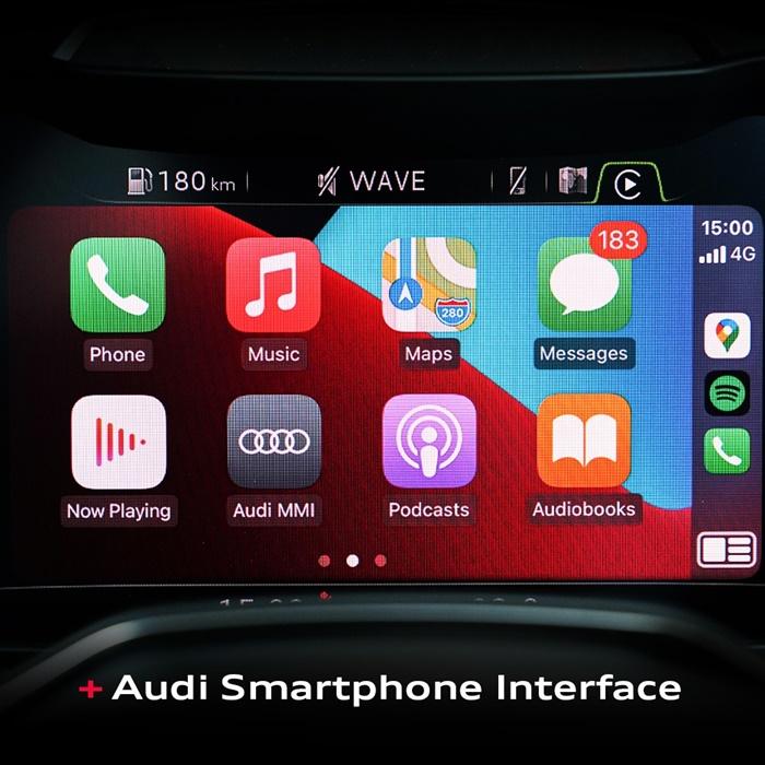Audi Smart Phone Interface