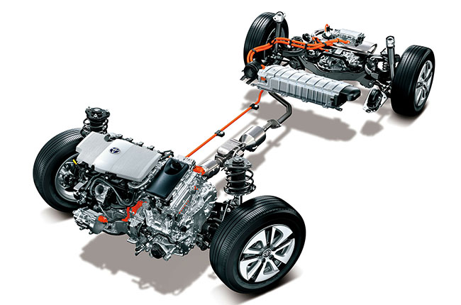 เครื่องยนต์ Hybrid