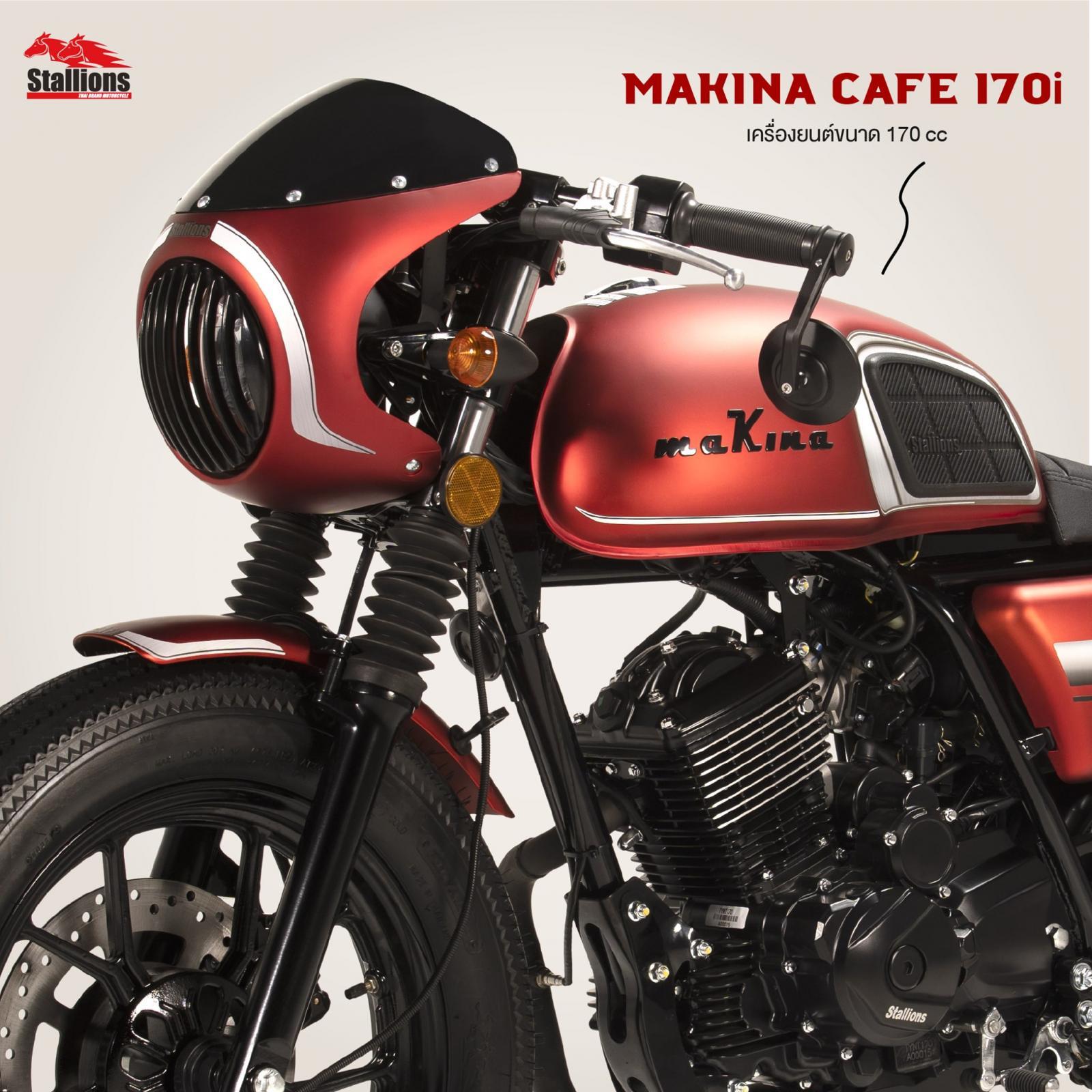 2021 Stallions Makina170i cafe