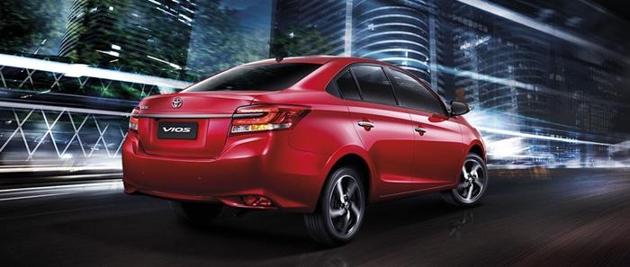 Toyota Vios ราคาเริ่มต้น 6.09 แสนบาท