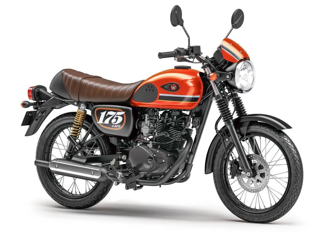 Kawasaki W175 2020 เผยสีสันใหม่ที่อินโดนีเซีย