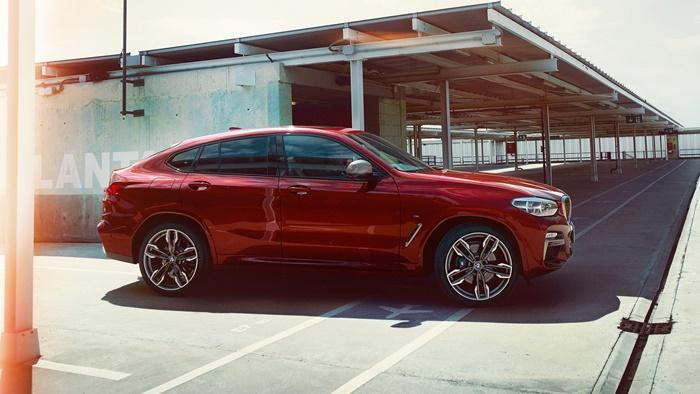 BMW X4ราคาเริ่มต้น 3,999,000 บาท