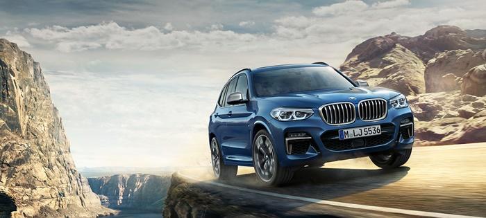 BMW X3 ราคาเริ่มต้น3,299,000 บาท