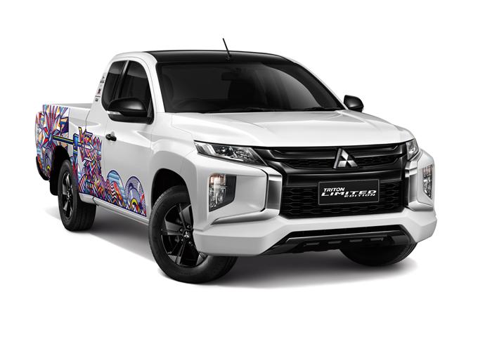 มิตซูบิชิ ไทรทัน 'รักกิจ เอดิชัน' เตรียมโชว์ตัวที่งาน Motor Show 2021