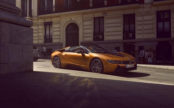 BMW i8 Roadster 2021