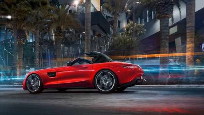 Mercedes-AMG GT C Roadster 2021