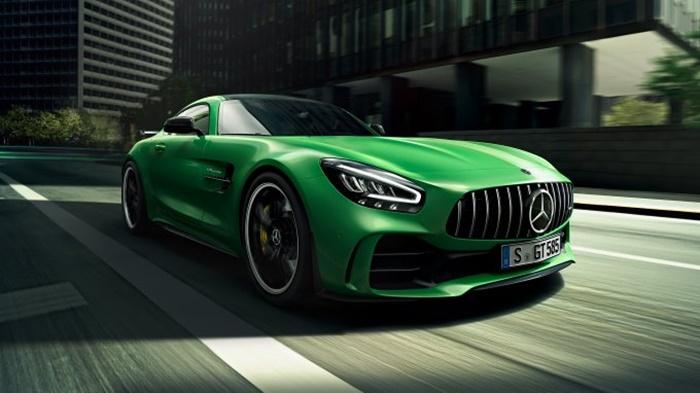 Mercedes-AMG GT R ราคา 18 บาท
