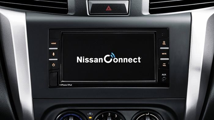 หน้าจอสัมผัส ขนาด 7 นิ้ว รองรับ Apple Carplay และ Android Auto