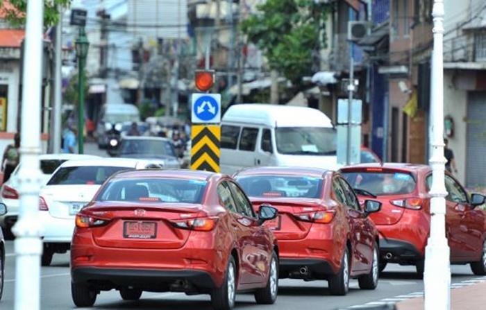 ข้อจำกัดในการใช้รถป้ายแดง