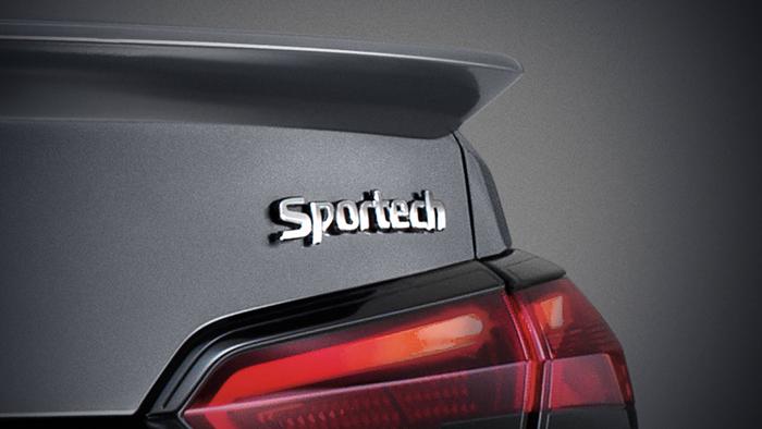 สัญลักษณ์ Sportech