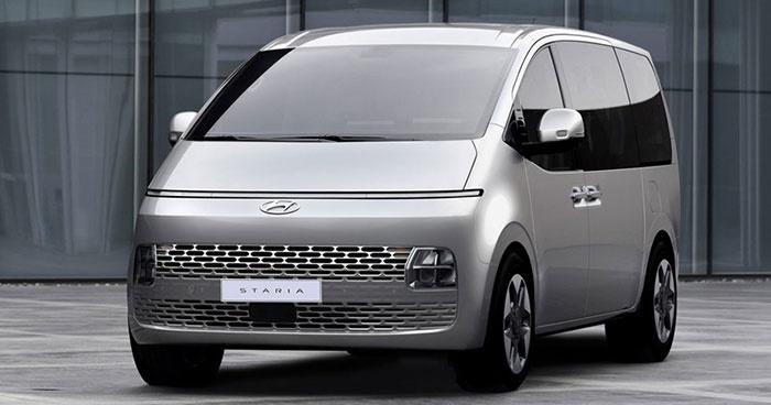 Hyundai Staria ราคาเริ่มต้น 1.729 ล้านบาท