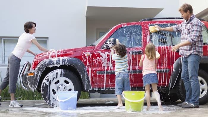 ขั้นตอนการล้างรถไม่ซับซ้อน ทำได้ง่าย ๆ ที่บ้าน