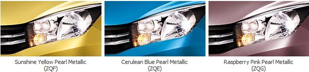 สีรถ Suzuki Celerio