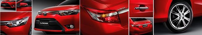 ภายนอก Toyota Vios