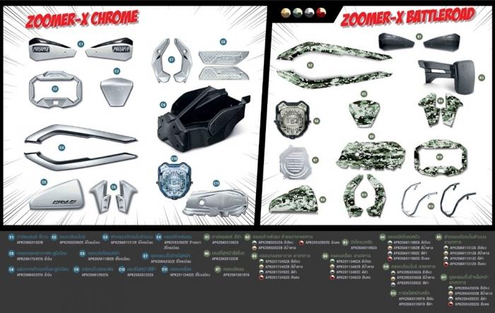 ของแต่ง Zoomer-X