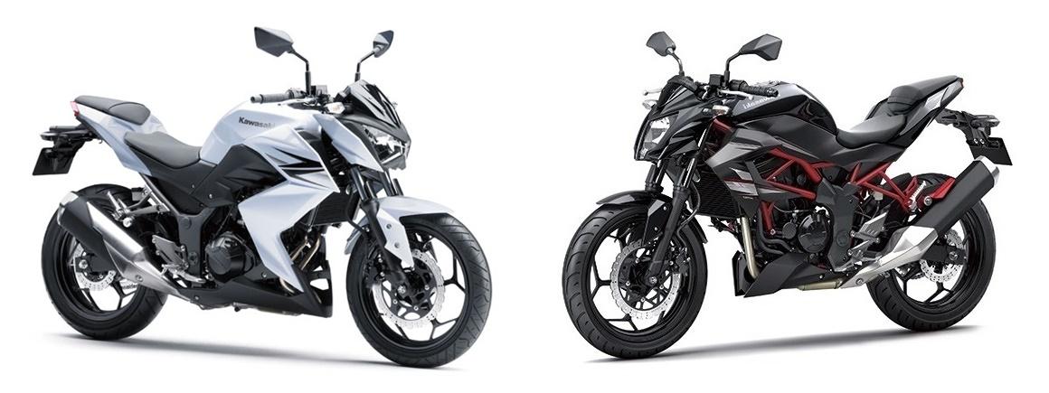 Kawasaki z250 และ z250sl