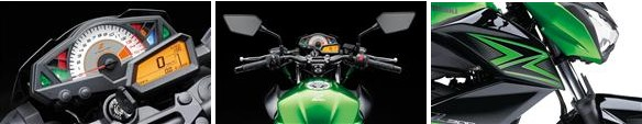 Kawasaki Z300 ninja