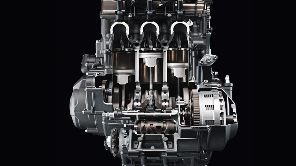 เครื่องยนต์ Yamaha Fz-09