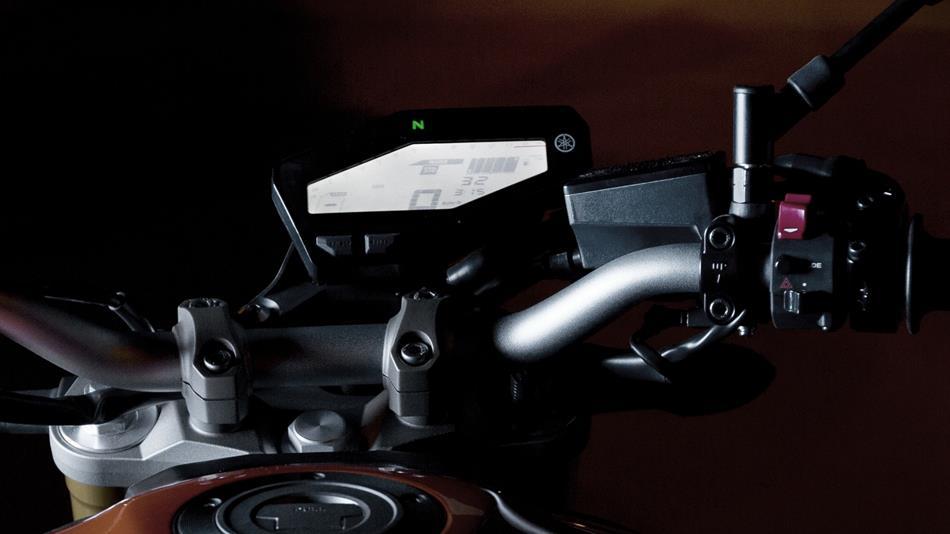 หน้าปัด Yamaha FZ-09
