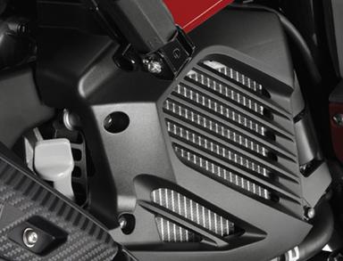 Yamaha mio 125i ตัวระบายความร้อน